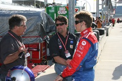 Mario, Michael and Marco Andretti