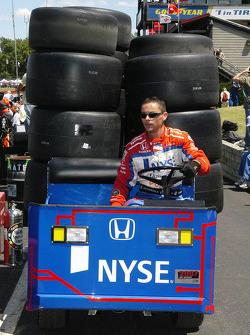 Marco Andretti saved on the tire bill today