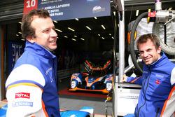 Olivier Panis y Nicolas Lapierre