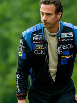 Rick DeMan after his massive crash
