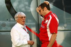 Bernie Ecclestone, Scuderia Ferrari Sporting Director