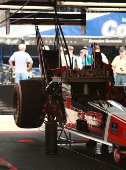Doug Kallita's machine awaiting the afternoon's qualifying
