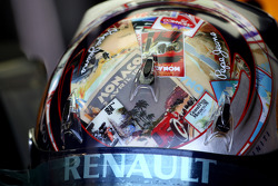 The Monaco design helmet of Sebastian Vettel, Red Bull Racing