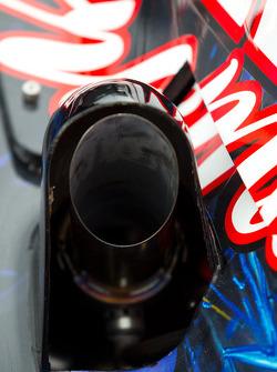 Car detail, Tomas Scheckter, KV Racing Technology - SH Racing