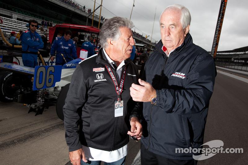 Mario Andretti and Roger Penske