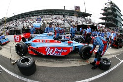 Car of John Andretti, Richard Petty/Andretti Autosport