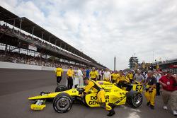 Coche de Ed Carpenter, Sarah Fisher Racing