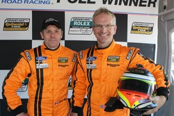 GS Pole winners Multimatic Motorsports Mustang Boss 302R: Scott Mawell and Joe Foster