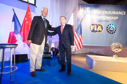 ACO press conference: ACO President Jean-Claude Plassart and FIA President Jean Todt