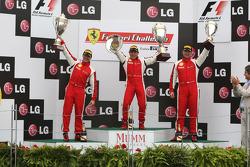 Ferrari of Ontario Ferrari F430 Challenge: Ryan Ockey, Ferrari of Ft. Lauderdale Ferrari F430 Challenge: Juan Hinestrosa, Ferrari of Silicon Valley Ferrari F430 Challenge: Chris Ruud