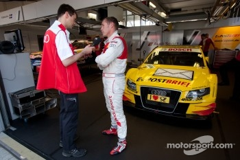 Kristensen replaces Rockenfeller during round four of the DTM Championship