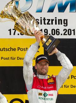Podium: race winner Martin Tomczyk, Audi Sport Team Phoenix