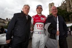 Romain Dumas with his dad