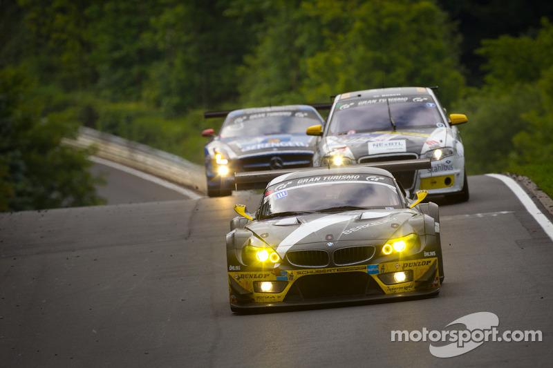 #4 Need for Speed Team Schubert BMW Z4GT3: Marko Hartung, Jörg Viebahn, Tom Coronel, Claudia Hürtgen