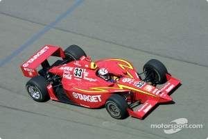Tony Stewart at the Indianapolis 500 in 2001