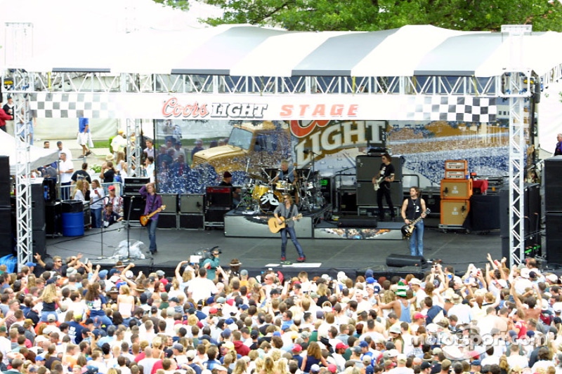 Collective Soul perform at Coors Carb day