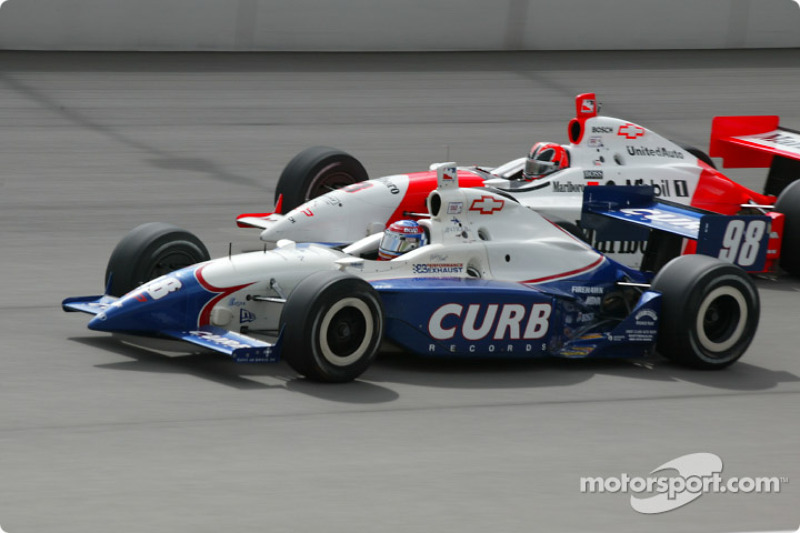 Billy Boat et Helio Castroneves