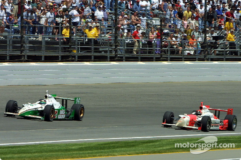 2002: Controverse om Paul Tracy en Helio Castroneves