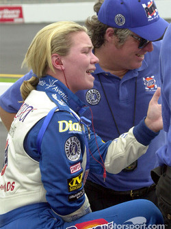 Sarah Fisher discusses how the car felt with her crew chief