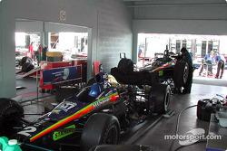 Team Menard garage area