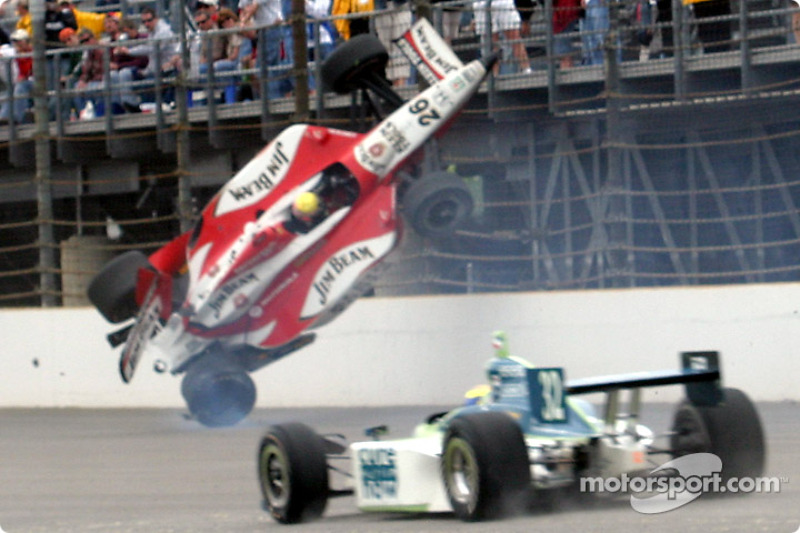 Crash de Dan Wheldon