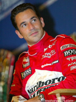 Press conference with IRL title contenders: Helio Castroneves