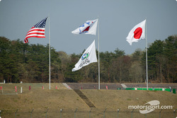 Flags at Twin Ring Motegi