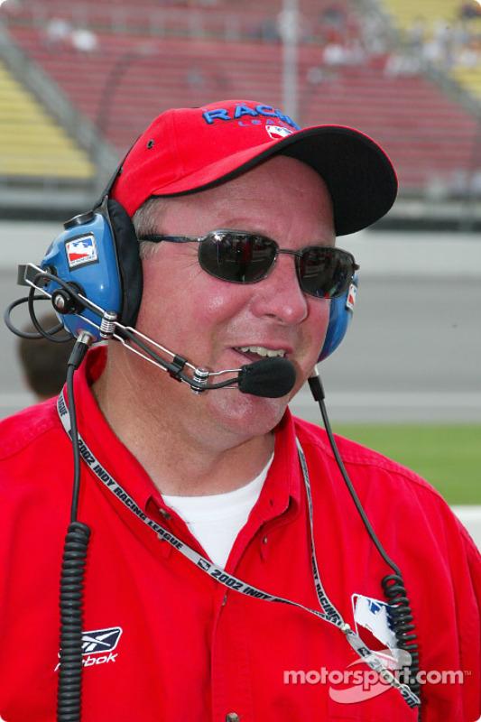 VIP de l'Indy Racing League operations Brian Barnhart