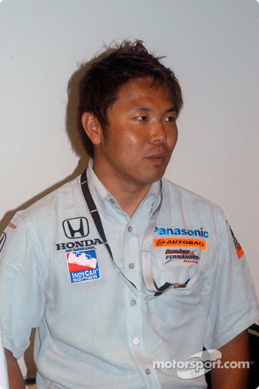 Le meilleur rookie, Kosuke Matsuura