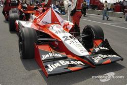 #26 Dan Wheldon car to the grid