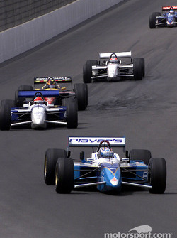Action in the pack: Alex Tagliani, Bryan Herta and Oriol Servia