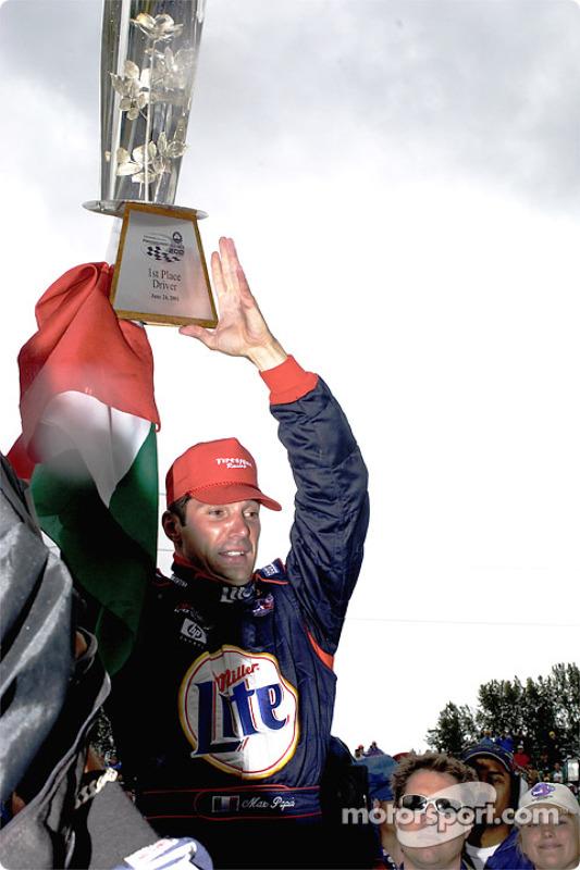Race winner Max Papis