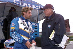 Alex Tagliani and Tony Cicale