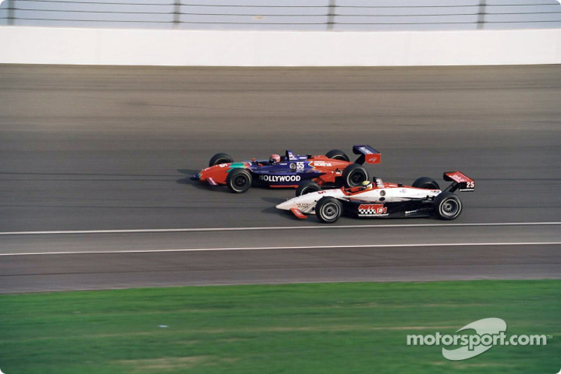 Tony Kanaan and Max Wilson