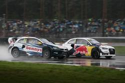 Антон Марклунд, VW, и Маттиас Экстрем, Audi