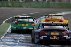 Edoardo Mortara, Audi Sport Team Abt Sportsline, Audi RS 5 DTM; Rene Rast, Audi Sport Team Phoenix, Audi RS 5 DTM