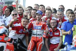 Segundo, Andrea Dovizioso, Ducati Team