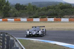 #12 Eurointernational Ligier JSP3 Nissan: Rik Breuke, Andrea Dromedari is spinning