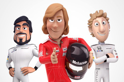 Mc Laren Tooned
