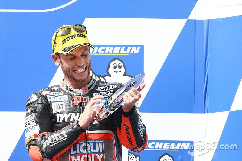 Sandro Cortese – Platz 3 Moto2