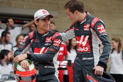 Esteban Gutierrez, Haas F1 Team ve Santino Ferrucci, Haas F1 Team Geliştirme Pilotu