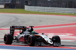 Nico Hulkenberg, Sahara Force India F1 VJM09 au départ