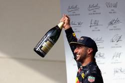 Third place Daniel Ricciardo, Red Bull Racing