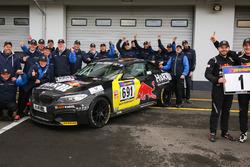 Podyum: Alexander Mies, Michael Schrey, BMW M235i Racing Cup mit dem Einsatzteam Bonk Motorsport