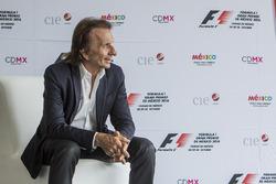 Emerson Fittipaldi embajador del GP de México
