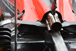 Ferrari SF16-H, detail