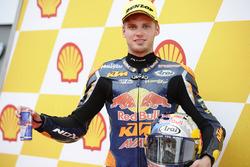 Le poleman Brad Binder, Red Bull KTM Ajo