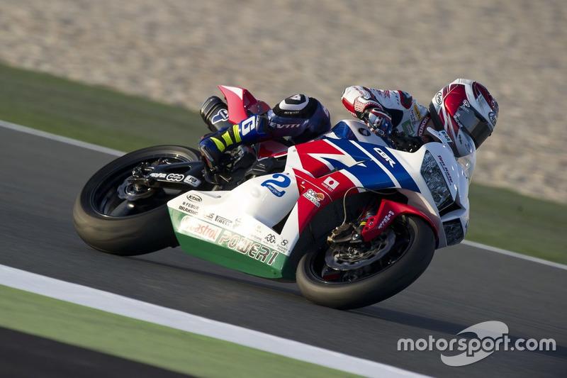 P.J. Jacobsen, Honda World Supersport Team
