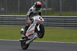 Race winner Francesco Bagnaia, Aspar Team Mahindra Moto3