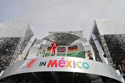 Podium: tercero, Sebastian Vettel, Ferrari
